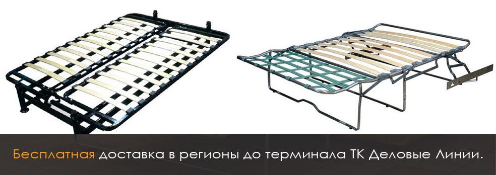 Механизмы диванных раскладушек